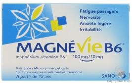 MAGNE VIE B6 100MG 60 CP