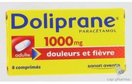 DOLIPRANE  1000MG CPR 8