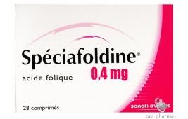 SPECIAFOLDINE 0,4MG CPR B/28
