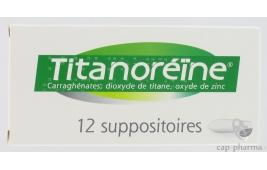titanoreine lidocaine suppo