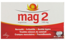 MAG 2 100MG CPR B/60