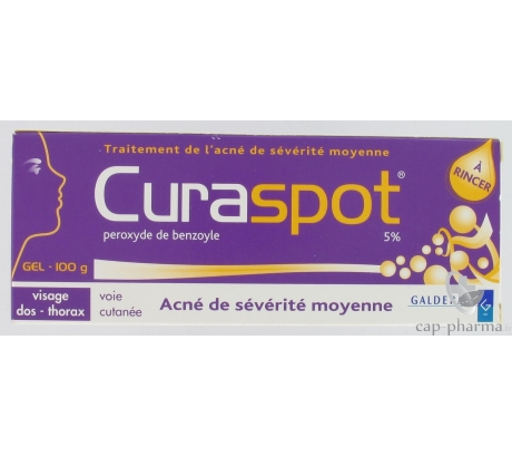CURASPOT 5 % GEL 100G