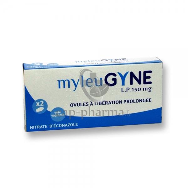 MYLEUGYNE LP 150 mg ovule LP : Plq/2 - Pharmacie