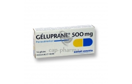 GELUPRANE 500MG GEL 16