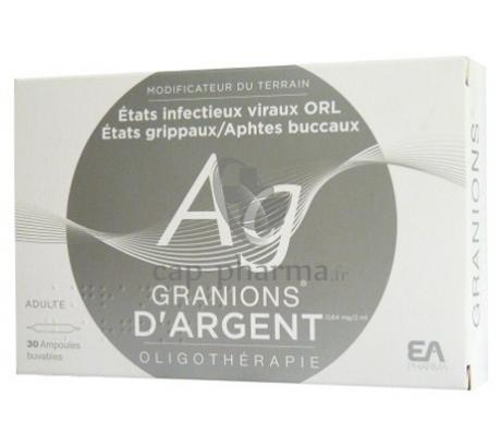 GRANIONS ARGENT AMP BUV 2ML 30