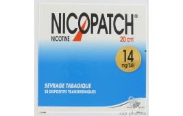 NICOPATCH 14MG/24H PATCH 20CM /28