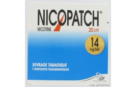NICOPATCH 14MG/24H PATCH 20CM B/7