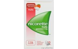 NICORETTE 2MG GOM FRU S SUC105