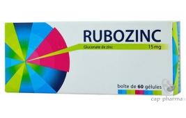RUBOZINC GELU 60