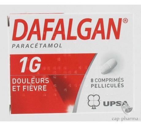 DAFALGAN 1000MG BTE/8