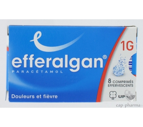 EFFERALGAN    1G CPR EFFV  8