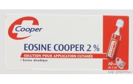 EOSINE AQUEUSE COOPER 2% S EXT B/10UNID/2ML