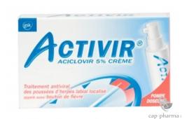 ACTIVIR 5% CR TUBE 2G