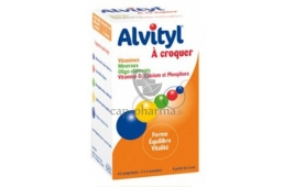 ALVITYL CPR A CROQUER /40