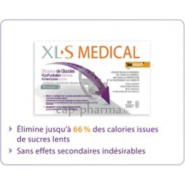 Bloqueur de glucides 60 comprim s pharmacie - Xls medical capteur de graisse pas cher ...