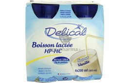DELICAL HP HC BOISSON VANILLE X4
