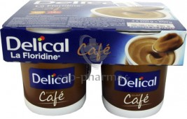 DELICAL HP HC CREME CAFE X4