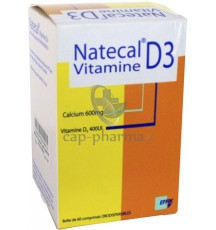NATECAL VIT D3 CPR OROD BT60