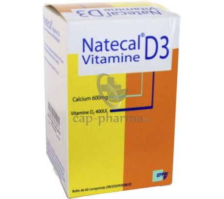 NATECAL VIT D3 CPR OROD BT60