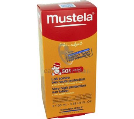 MUSTELA SOLAIRE LAIT 50+100ML