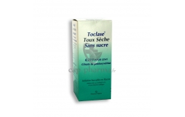TOCLASE TOUX SECHE SS SIROP 150ML